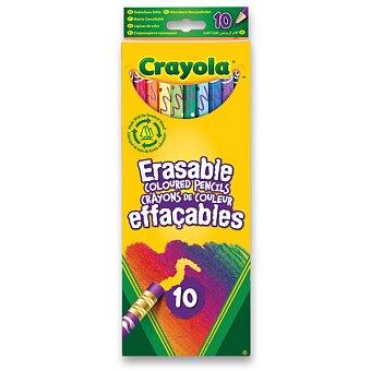Obrázek produktu Pastelky Crayola vygumovatelné - 10 barev