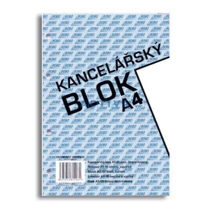 Obrázok produktu Bobo - lepený blok, dierovaný - A4, 50 l., čistý