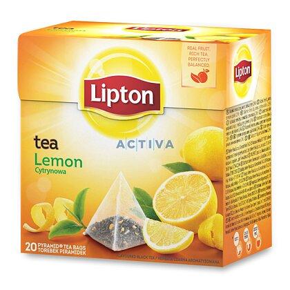 Obrázek produktu Lipton Lemon Tea - černý čaj pyramida