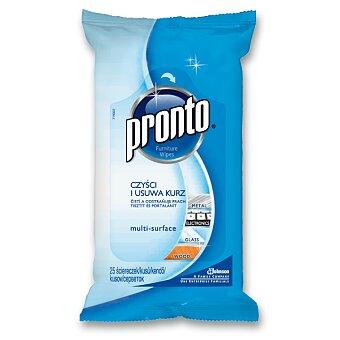Obrázek produktu Vlhčené čisticí ubrousky Pronto - na úklid, 25 ks