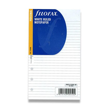 Obrázek produktu Filofax - náplň osobní - poznámkový papír, linkovaný