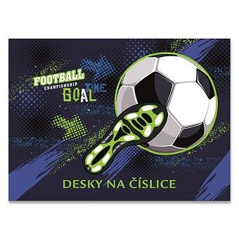 Obrázek produktu Desky na číslice Fotbal
