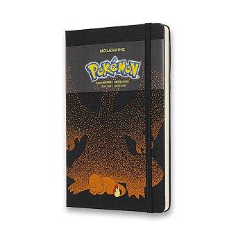 Obrázek produktu Zápisník Moleskine Pokemon  - tvrdé desky - L, linkovaný, Charmender