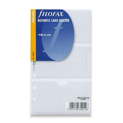 Obrázek produktu Filofax - náplň osobní - pouzdro na 6 ks vizitek