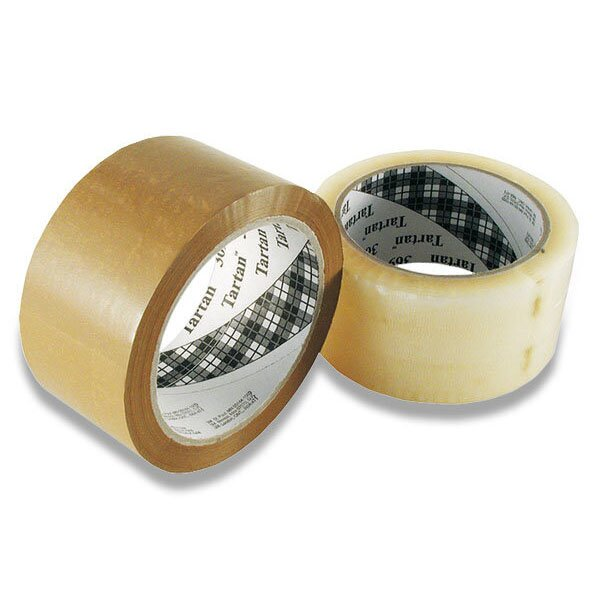 Samolepicí páska Tartan 369 hnědá