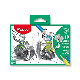 Obrázek produktu Pohlednice Maped s předlohou - mix motivů