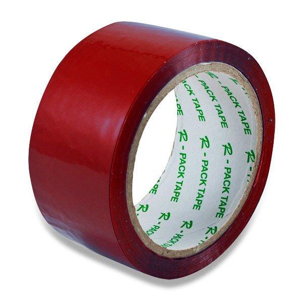 Barevná samolepicí páska Reas Pack červená