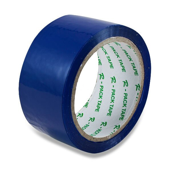 Barevná samolepicí páska Reas Pack modrá