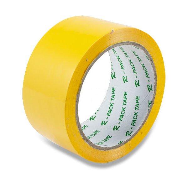 Barevná samolepicí páska Reas Pack žlutá