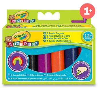 Obrázek produktu Voskovky Crayola Mini Kids Jumbo - 8 barev