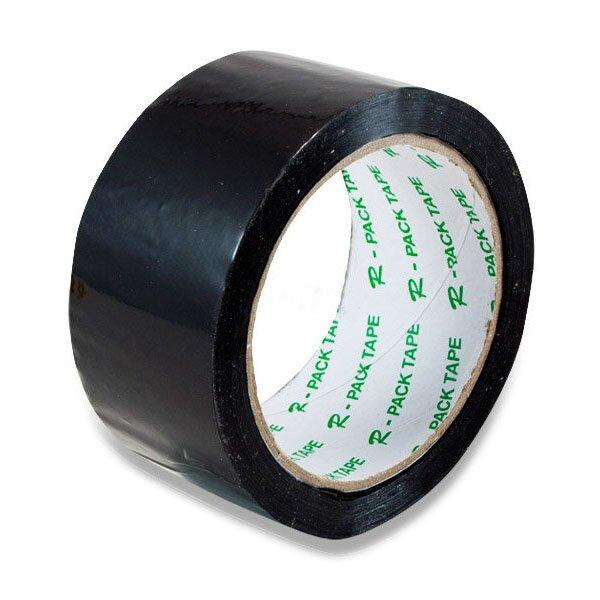 Barevná samolepicí páska Reas Pack černá