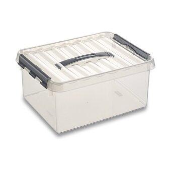 Obrázek produktu Úložný box Helit Q-line - 200 x 300 x 100 mm, objem 4 l