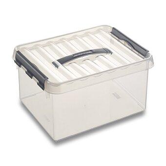 Obrázek produktu Úložný box Helit Q-line - 200 x 300 x 140 mm, objem 6 l