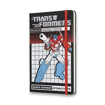 Obrázek produktu Zápisník Moleskine Transformers  - tvrdé desky - L, linkovaný, Optimus