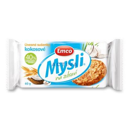 Obrázek produktu Emco - cereální sušenky - kokosové, 60 g