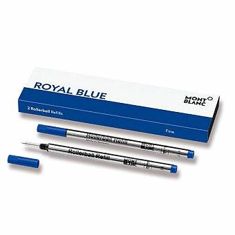 Obrázek produktu Náplň Montblanc do rolleru - F, 2 ks, royal blue