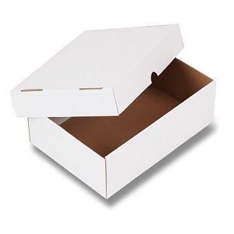 Obrázek produktu Bílé krabice s víkem - výběr rozměrů