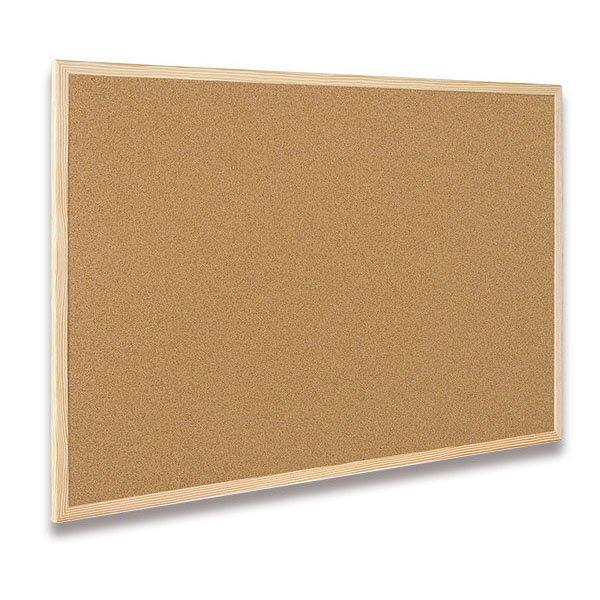 Korková tabule Bi-Office 100 x 60 cm