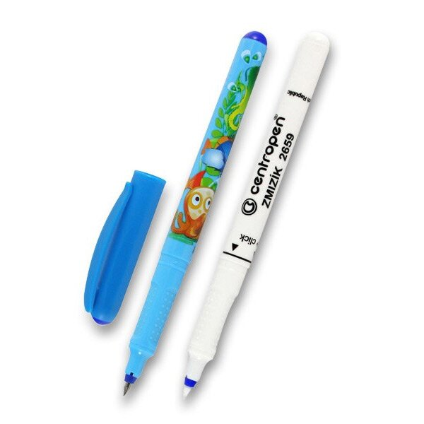 Roller Centropen 2675 Tornado Blue + zmizík mix barev