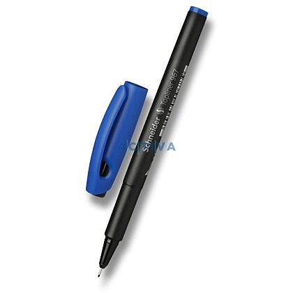 Obrázek produktu Schneider Topliner 967 - mikrofix - modrý