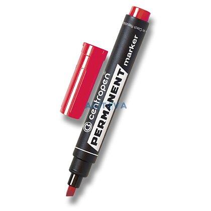 Obrázek produktu Centropen Permanent 8576 - popisovač - červený