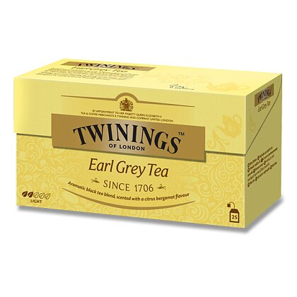 Obrázek produktu Twinings - černý čaj - Earl Grey, 25 x 2 g