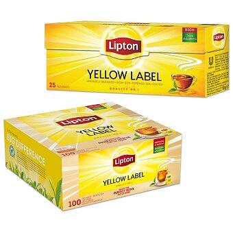 Obrázek produktu Černý čaj Lipton Yellow Label Tea - výběr balení