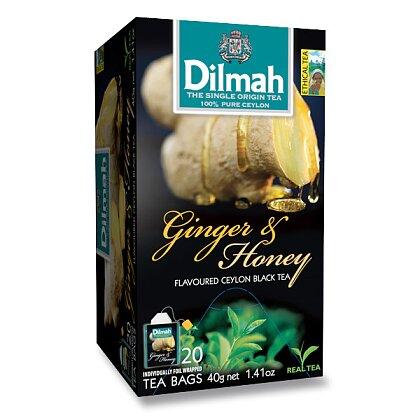 Obrázek produktu Dilmah - černý čaj - Zázvor a med