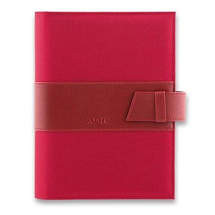 Obrázek produktu ADK Manager - denní plánovací systém A5 - červený