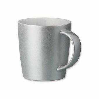 Obrázek produktu MANEL - porcelánový hrnek o objemu, 400 ml, výběr barev