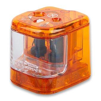 Obrázek produktu Elektrické ořezávátko Ico Duo - stolní, pro 2 tužky, mix barev
