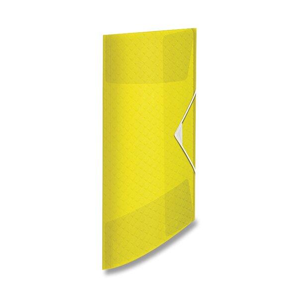 Spisové desky Esselte Colour'Ice ledově žlutá