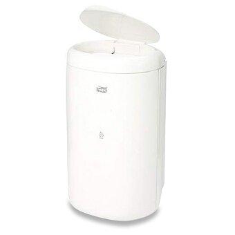 Obrázek produktu Plastový odpadkový koš Tork Elevation Mini s víkem - objem 5 litrů, bílý