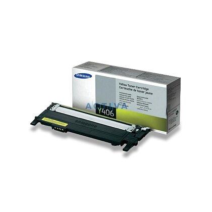 Obrázek produktu Samsung - toner CLT-Y406S, Yellow (žlutý) pro laserové tiskárny