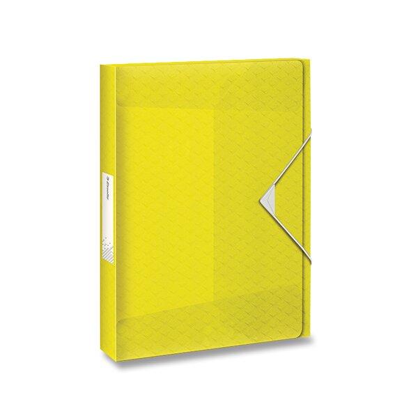 Box na dokumenty Esselte Colour'Ice ledově žlutá