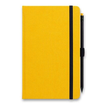 Obrázek produktu Graspo G-Notes - linkovaný zápisník - žlutý