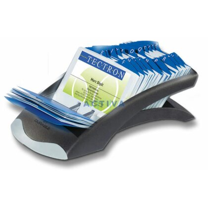 Obrázek produktu Durable Visifix Desk - kartotéka na vizitky - černá