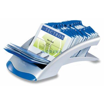 Obrázek produktu Durable Visifix Desk - kartotéka na vizitky - stříbrná