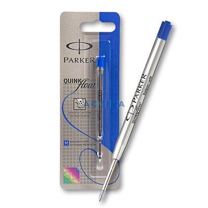 Obrázek produktu Parker - náplň QuinkFlow do kuličkových tužek - 1,0 mm, modrá