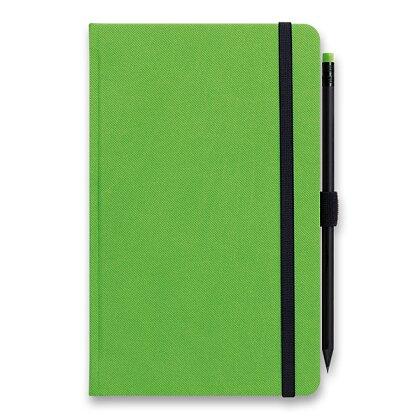 Obrázek produktu Graspo G-Notes - linkovaný zápisník - zelený