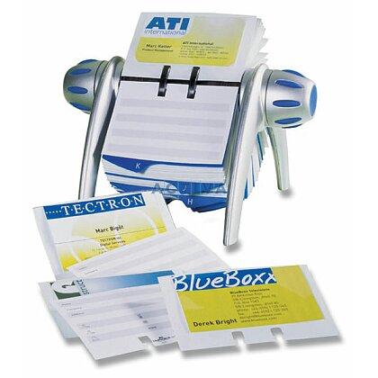 Obrázek produktu Durable Visifix - stolní kartotéka - stříbrná