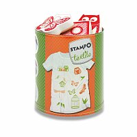 Razítka Stampo Textile - Ptáci, motýli, sovy