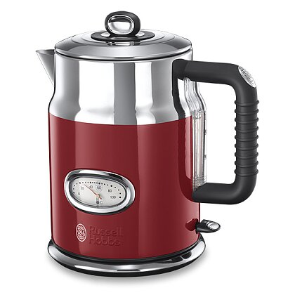 Product image Russell Hobbs Retro - kettle with retro elements - red