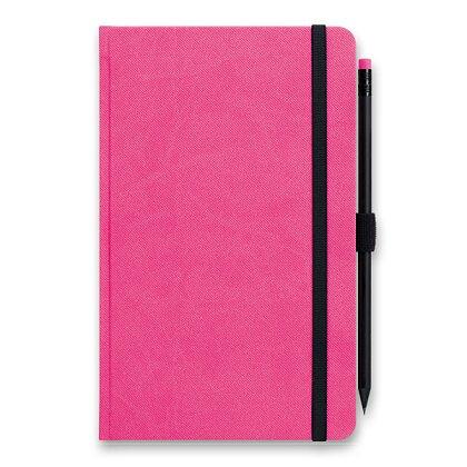Obrázok produktu Graspo G-Notes - linajkový zápisník - ružový