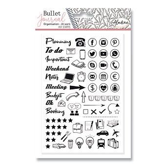 Obrázek produktu Razítka Stampo Bullet Aladine - Můj pracovní den, 61 ks