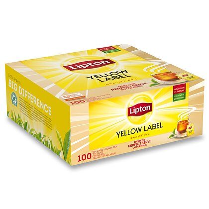 Obrázek produktu Lipton - černý čaj - Yellow Label Tea, 100 ks