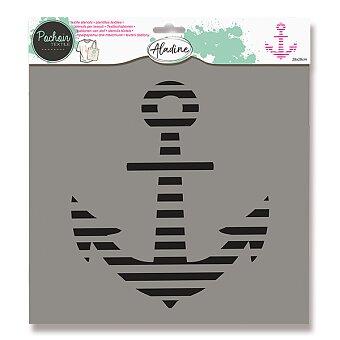 Obrázek produktu Plastová šablona AladinE - Kotva - 28 x 28 cm