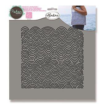 Obrázek produktu Plastová šablona AladinE - Mořské vlny - 28 x 28 cm