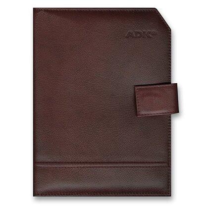 Obrázek produktu ADK Classic - plánovací diář A5 - hnědý