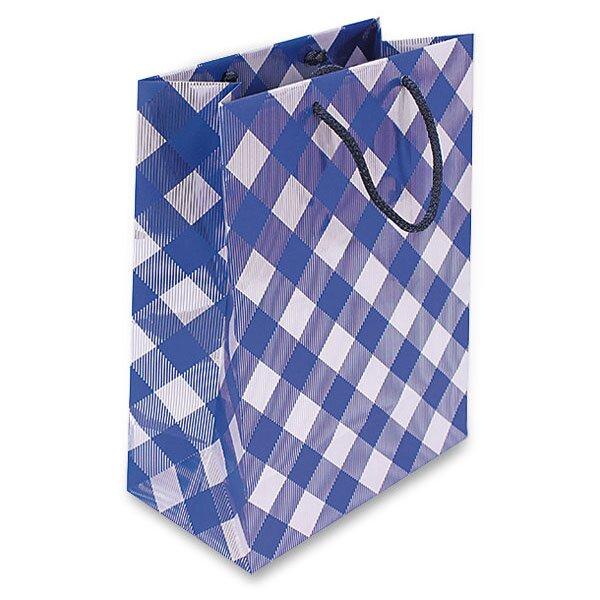 Dárková taška Premium Blue 320 x 130 x 250 mm